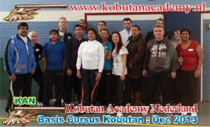 groepfoto Kobutan academy Nederland